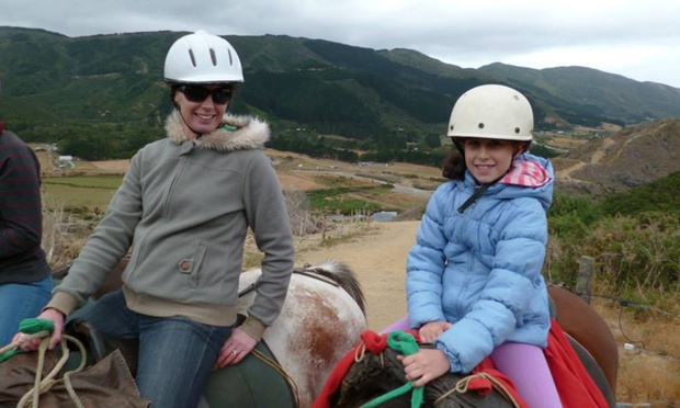 Two Hour Horse Riding Trek for One ($69), Two ($135) or Four People ($269) with Coastal Views Horse Treks (Up to $360)