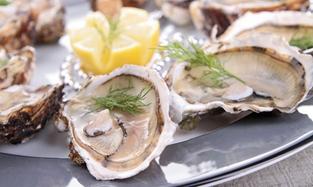 Seafood for Two for Lunch or Dinner at Two Chefs Seafood & Oyster Bar (37% Off)