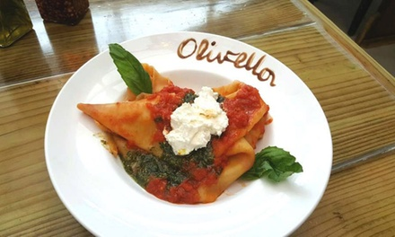 Italian Cuisine at Olivella's (Up to 45% Off). Three Options Available.
