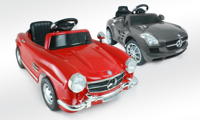mercedes benz kinder elektroauto groupon goods. Black Bedroom Furniture Sets. Home Design Ideas