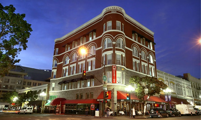 The Keating Hotel - San Diego: Stay at The Keating Hotel in San Diego