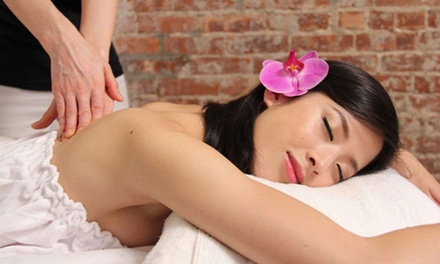 Aromatherapy Massage and/or Basic Facial with BioLife Eye Treatment at Skin Station (Up to 64% Off)
