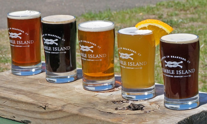 Thimble Island Brewing Company - Thimble Island Brewery: $22 for a Brewery Tour with Tastings for Four at Thimble Island Brewing Company ($44 Value)