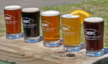 $22 for a Brewery Tour with Tastings for Four at Thimble Island Brewing Company ($44 Value)
