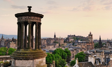 groupon daily deal - ✈ 5-Day Scotland Tour with Air & 4-Star Hotel from Great Value Vacations. Price/Person Based on Double Occupancy.