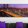 "48""x16"" Panoramic City Skylines on Gallery-Wrapped Canvas"