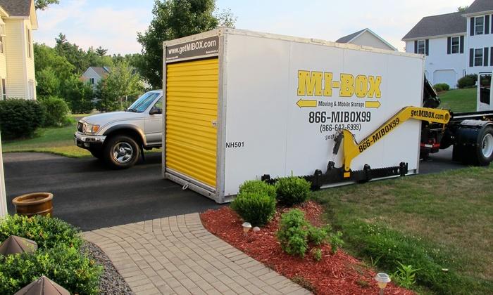 MI BOX Storage: 8u0027 Or 16u0027 Portable Storage Unit For One Month
