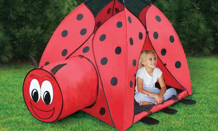 Ladybug Play Tent with Carrying Case: Ladybug Play Tent with Carrying Case. Free Shipping and Returns.