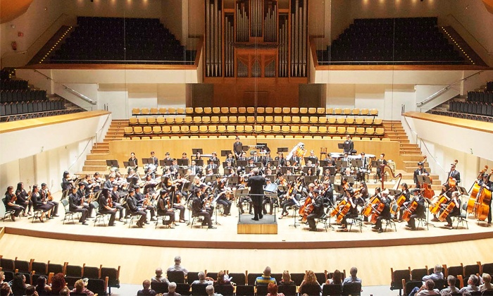 San Jose Youth Symphony's Philharmonic Orchestra - The California Theatre: San Jose Youth Symphony's Philharmonic Orchestra on March 24 at 8 p.m.