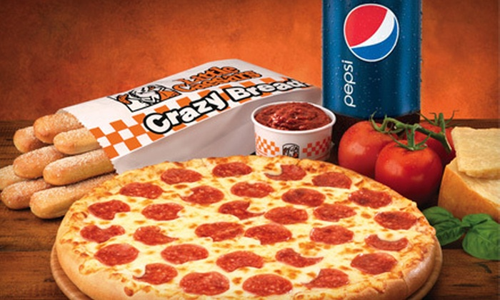 Little Caesars - Multiple Locations: $8 for a Pizza Meal with Crazy Bread and 2-Liter at Little Caesars (Up to $16.09 Value)