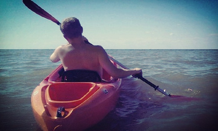 West River Kayak & Canoe - Vermilion: Kayak or Paddleboard Rental for One or Two or Golf-Cart Rental for Two at West River Kayak & Canoe (Half Off)