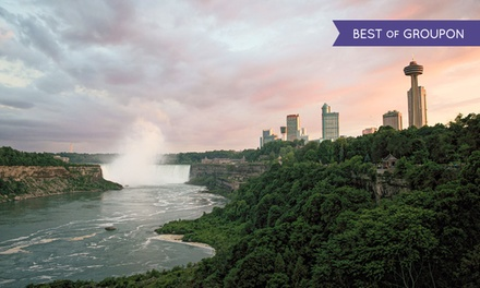 2-Night Stay w/ Dining & Spa Credits, and Wine at Sterling Inn & Spa in Niagara Falls, ON. Valid...