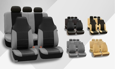 Full Set of Deluxe Leatherette Seat Covers