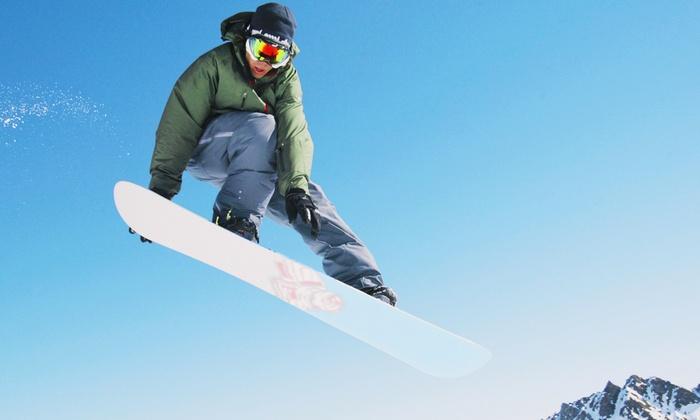 PowderHound - Girdwood: Edge, Wax, and Binding Check for Skis or Snowboard or Full-Day Ski Demo at PowderHound (Up to 51% Off)