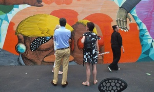 The Art Experience: Design District Art Tour with Three-Course Meal for Two or Four from The Art Experience (Up to 48% Off)