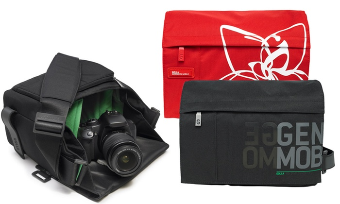 Golla DSLR Camera Bag: Golla DSLR Camera Bag in Black or Red. Free Returns.
