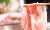 コスパを重視したい、幹事さんに≪そばつゆで楽しむ豚鶏しゃぶしゃぶ・カレーなどフードコーナー食べ放題+飲み放題120分≫一度に24名まで予...