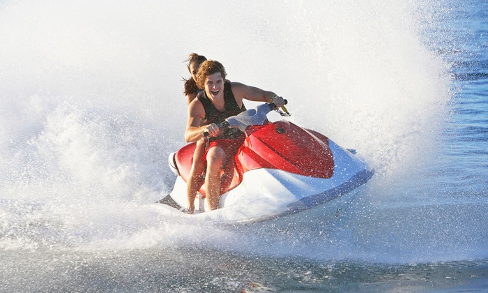 High Impact Watersports - Star, Palm and Hibiscus Islands: One- or Two-Hour Jet-Ski Rental from High Impact Watersports (53% Off)