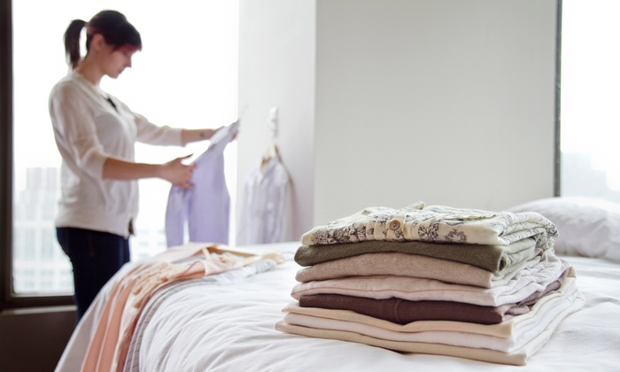 Starbright Cleaners - Multiple Locations: Dry-Cleaning Services at Starbright Cleaners (Up to 43% Off). Three Options Available.