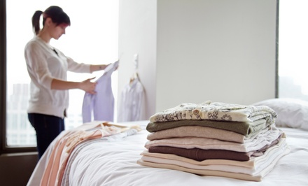 Dry-Cleaning Services at Starbright Cleaners (Up to 43% Off). Three Options Available.