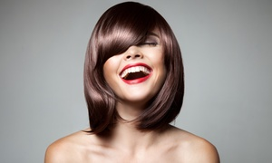 Hair by Omar: Haircut, Shampoo, and Moroccan Oil Treatment with Color Option at Hair by Omar (Up to 56% Off)