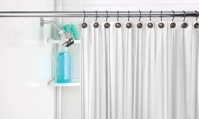 Shower Liner 3 Pack with Magnetic Hems: Shower Liner 3 Pack with Magnetic Hems. Multiple Colors Available. Free Returns.