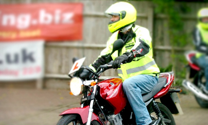 Rider Training - Brackley: Motorcycle CBT Course With Bike Hire and Theory Test for £64 with Rider Training (51% Off)