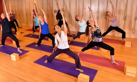 15 or 20 Classes at Yoga Sol Studio (Up to 79% Off)