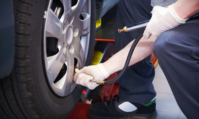 Winchester Tire & Alignment - Whitehaven: One or Three Oil Changes and Tire Rotations at Winchester Tire & Alignment (Up to 64% Off)