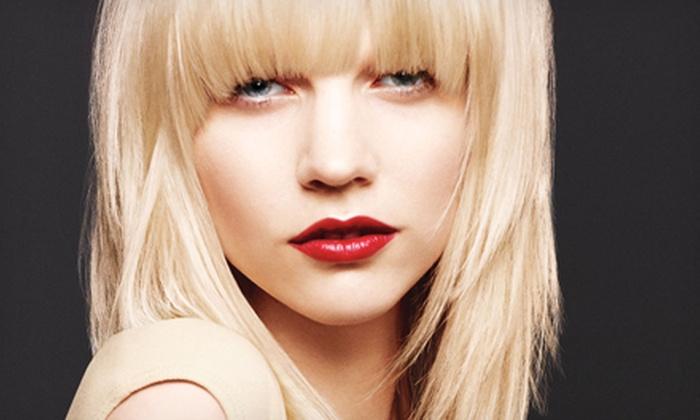 Bokaos Aveda SalonSpa - Bokaos : Haircut and Scalp Therapy or Keratin Treatment at Bokaos Aveda SalonSpa (Up to54%)