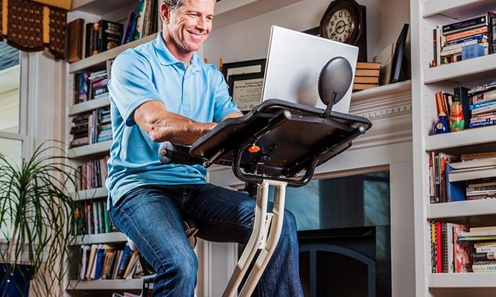FitDesk Pedal Desk : FitDesk 2.0 Lightweight Folding Pedal Desk. Free Returns.