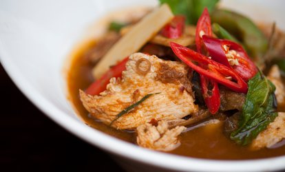 image for Two-Course Lunch for Two or Four with One Side to Share per Two at Koh Thai Tapas Boscombe (Up to 49% Off)