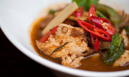 TwoCourse Lunch for Two or Four with One Side to Share per Two at Koh Thai Tapas Boscombe