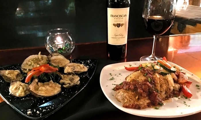 Islands Fish Grill - Islands Fish Grill: American Seafood Cuisine and Drinks for Dinner for Two or Four at Islands Fish Grill (40% Off)