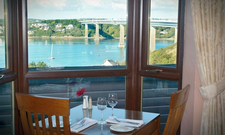Pembrokeshire: 1 or 2 Nights for Two with Breakfast and Late CheckOut, with Option for Dinner at Cleddau Bridge Hotel