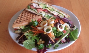Vee's Cafe - On the Run: $15 for Two Groupons, Each Good for $15 Worth of Lunch from Vee's Cafe - On the Run ($30 Total Value)