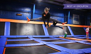 Sky Zone Mount Sinai: Two One-Hour Jump Passes or Birthday Party for 11 at Sky Zone Mt. Sinai(Up to 47% Off). Four Options Available.