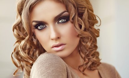 image for Haircut and Optional Highlights at Elite Edge Salon and Spa (Up to 61% Off). Three Options Available