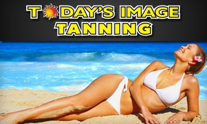 Today's Image Tanning - Carney: One, Two, or Three Mystic-Tanning Sessions at Today's Image Tanning (Up to 67% Off)