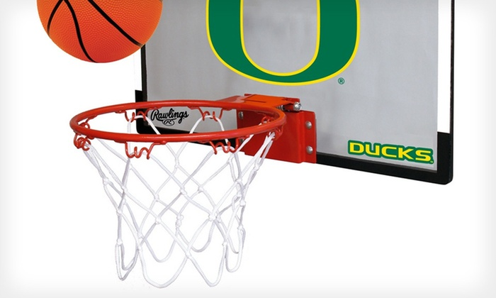 Ncaa Game On Hoop Set By Rawlings Sports Outdoor Play Toy Sports