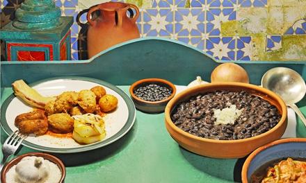 Cena con specialità cubane