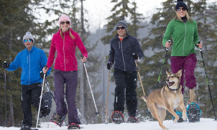 Ski Callaghan - Ski Callaghan: C$16 for Snowshoeing Passes for Two Adults at Ski Callaghan (C$30 Value)