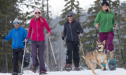 C$16 for Snowshoeing Passes for Two Adults at Ski Callaghan (C$30 Value)