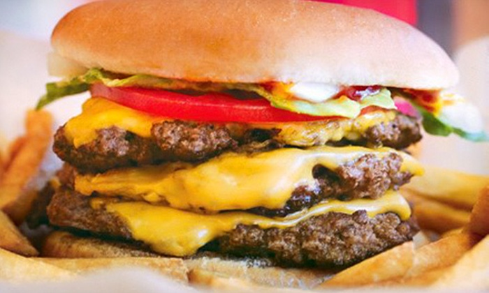 Wayback Burgers - Santa Clara: Burgers, Dogs, and Shakes for Two or Four at Wayback Burgers (Up to 54% Off)