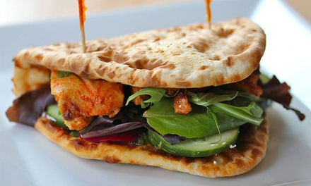 [Fast-Casual Indian Food at Boston Indian Kitchen (40%Off). Two Options Available. Image]