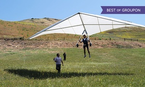 East Bay Hang Gliding: Hang-Gliding Lesson for One, Two, or Four or a Tandem Flight for One from East Bay Hang Gliding (Up to 46% Off)