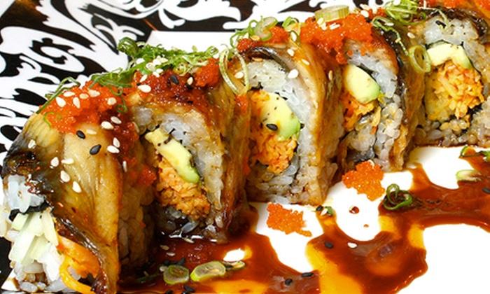 Kobe Hero - Carrington Park: $12.50 for $25 Worth of Hibachi Cuisine and Sushi at Kobe Hero Japanese Steakhouse and Sushi Bar