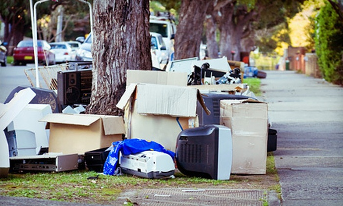 Junk Stoppers - Edwardsville: 4 or 8 Cubic Yards of Junk Removal and Disposal from Junk Stoppers (Up to 63% Off)
