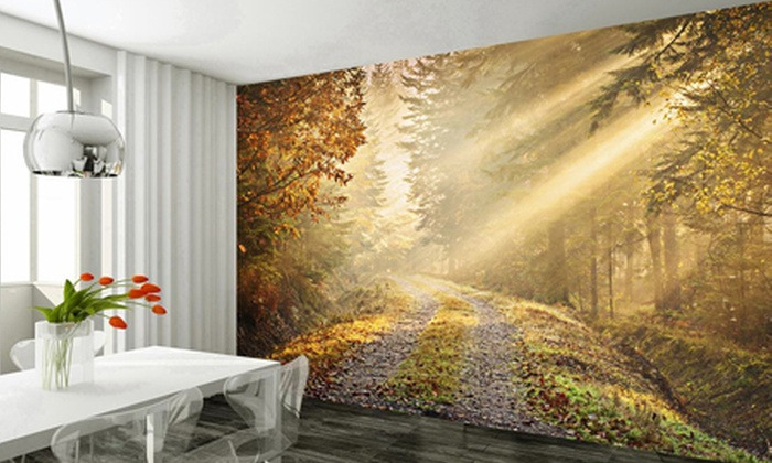 Groupon Goods Global GmbH: Giant Wall Murals for £29.99 With Free Delivery (40% Off)