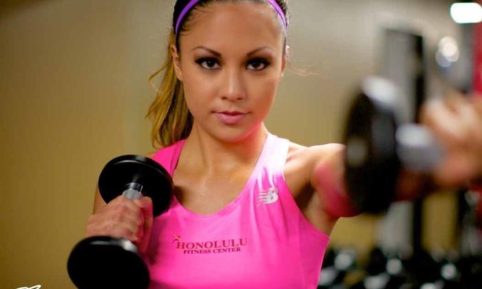 Honolulu Fitness Center - Downtown Honolulu: Up to 58% Off Gym Membership at Honolulu Fitness Center